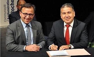 MEÜ, Fransız Üniversite ile Protokol İmzaladı
