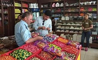 Tarsus'ta Bayram Öncesi Şeker ve Tatlı Denetimi