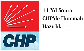 CHP'de Hummalı Hazırlık