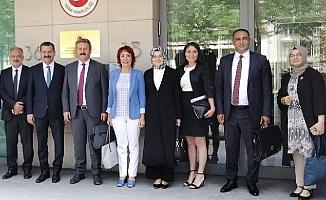 Başkan Yımaz ,Türkiye'yi Temsilen Bürüksel'de