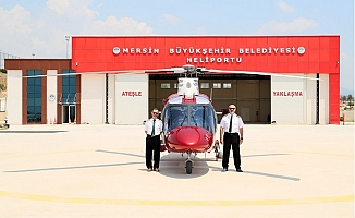 Mersin Büyükşehir Belediyesi Hava Taksi Hizmeti Verecek.
