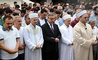 Mersin'de, Mursi İçin Gıyabi Cenaze Namazı