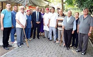Tarsus Protokolünden Huzurevi ve Hastane Ziyareti