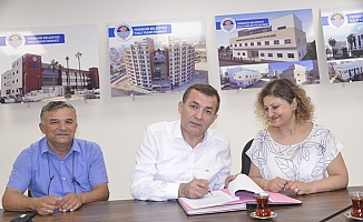 Yenişehir Belediyesi Tüm Bel-Sen İle Toplu Sözleşmeyi İmzaladı.