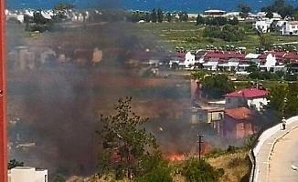 Anamur'da Sazlık Yangını