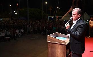 """Başkan Seçer, Bizi Demokrasi Kurtaracak"""""""