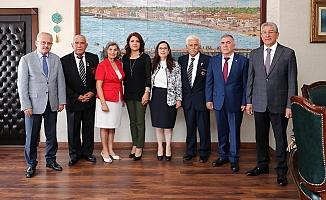 KKTC Heyetinden Büyükşehir'e Barış Harekatı Ziyareti