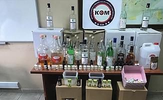 Mersin'de Etil Alkol Paskını
