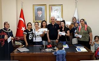 Akdeniz Belediyesinden Girişimci 16 Kadına  25 Bin TL Kredi