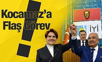 Akşener,Kocamaz'ı İYİ Parti Genel İdare Kurulu Üyesi Yapıyor