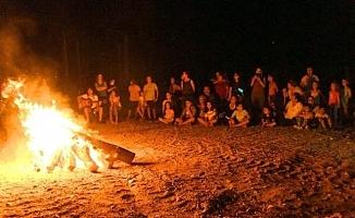 Anneler ve Çocukları Kamp Yaptı