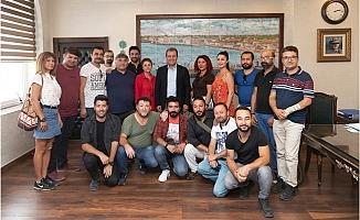 """Başkan Seçer: """"Mersin'de Tiyatro Konuşulacak"""""""