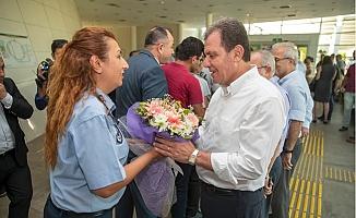 Başkan Seçer, Personeliyle Bayramlaştı.
