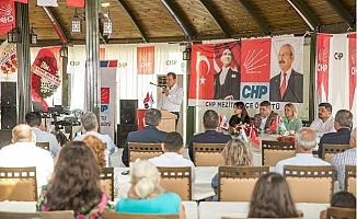 CHP Mezitli İlçe Danışma Toplantısı Yoğun Katılımla Geçti
