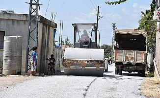 Tarsus'da Asfalt Çalışmalarına Hız Verildi.