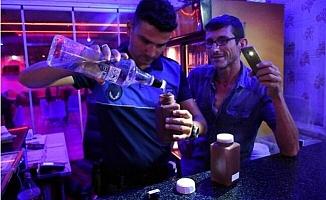 Tarsus'ta İçkili Mekanlara Denetim