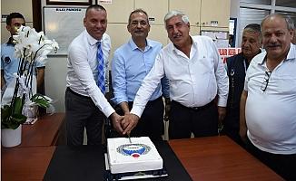 Bozdoğan, Zabıta Haftası'nı Personeliyle Kutladı