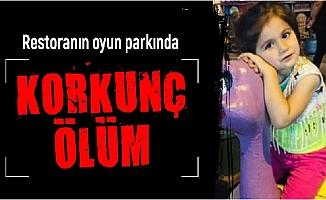 Mersin'de Restoranın Oyun Parkında Korkunç Ölüm