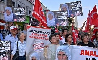 Diyarbakır'da Eylem Yapan Ailelere Mersin'den Destek