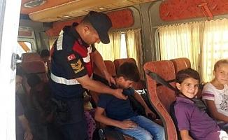 Öğrenci Servislerine Jandarma Denetimi