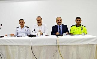 Silifke'de Eğitim Güvenliği Toplantısı