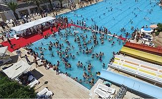Tarsus'da Su Parkına 99 Günde 18 Bin 45 Kişi Ziyaret Etti.