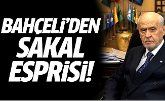 Bahçeli'den Sakal Esprisi: Bir Hafta da Sakalımı Konuşsunlar!