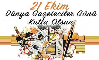 Fatih Şahin Dünya Gazeteciler Gününü Kutladı.