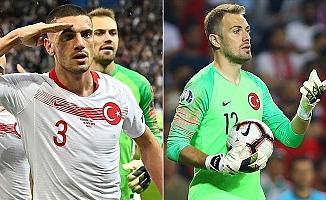 Merih Demiral ve Mert Günok UEFA'nın En İyi 11'inde