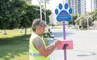 Mersin'e Köpek Atık İstasyonu Hizmette