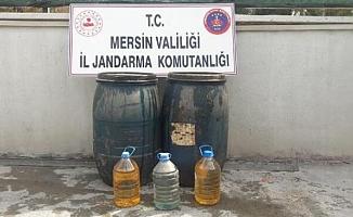 Tarsus'ta 125 Litre Sahte İçki Yakalandı