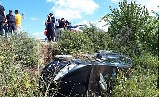 Tarsus'taki Trafik Kazasında 4 Kişilik Aile Ölümden Döndü