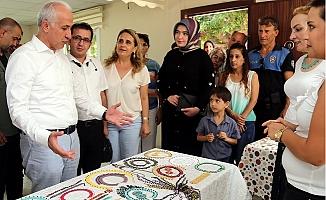 Akdeniz Belediyesi Mahalle Evlerinde Kurs ve Eğitime Başladı