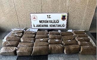 Kargo ile Gelen Kaçak Tütün, Jandarmaya Takıldı