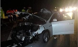 Mersin'de AK Parti Camiasını Yasa Boğan Kaza