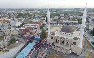 Tarsus'ta Barbaros Merkez Cami Törenle Açıldı