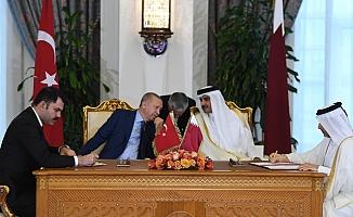 Türkiye ile Katar Arasında 7 Anlaşma İmzalandı