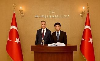 Vietnam Büyükelçisi Mersin'de