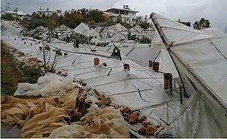 Anamur'da Hortum Felaketi