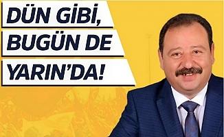 CHP Yenişehir'de Tayar Tahiroğlu, Yeniden Başkan