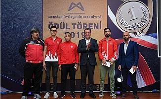 Mersin Büyükşehir, Başarılı Sporcuları Ödüllendirdi
