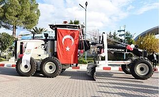 Tarsus Belediyesi Yerli Grayder Tercih Etti.