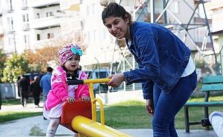 Toroslar'da Çocukların Yüzü Gülüyor