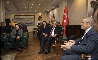 CHP Genel Başkan Yardımcısı Yıldırım Kaya'dan Seçer'e Ziyaret