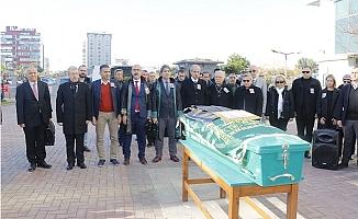 Duayen Avukat, Mersin'de Son Yolculuğuna Uğurlandı