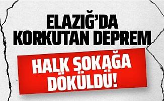Elazığ Merkezli Doğu Anadoluyu Sallayan Deprem