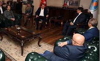 MGC'den Başkan Seçer'e İade-i Ziyaret