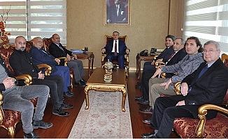 MGC Yönetimi Vali İhsan Su'yu Ziyaret Etti