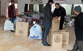 Mut Belediyesi'nden Depremzedelere Yardım Kampanyası