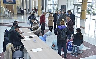Yenişehir Belediyesi Depremzedeler İçin El Ele Verdi